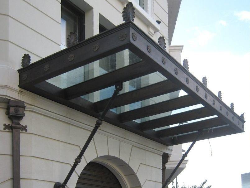 Sliding panel shutter Pensilina in vetro by Capoferri Serramenti