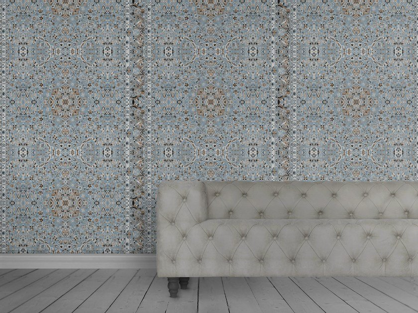 Wallpaper PERSIAN WALLPAPER BLUE by Mineheart