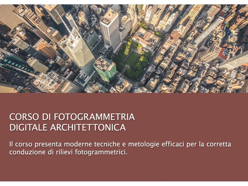 Relief, topography and diagnostic training course Photogrammetry training course by UNIPRO