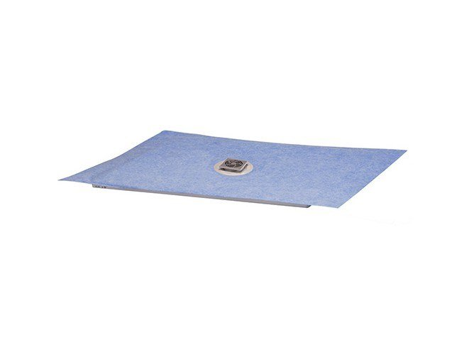 Tiled shower tray Tiled shower tray by Nicoll by REDI