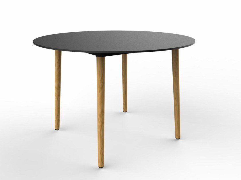 Round Fenix-NTM® table PILOT | Round table by Quinze & Milan