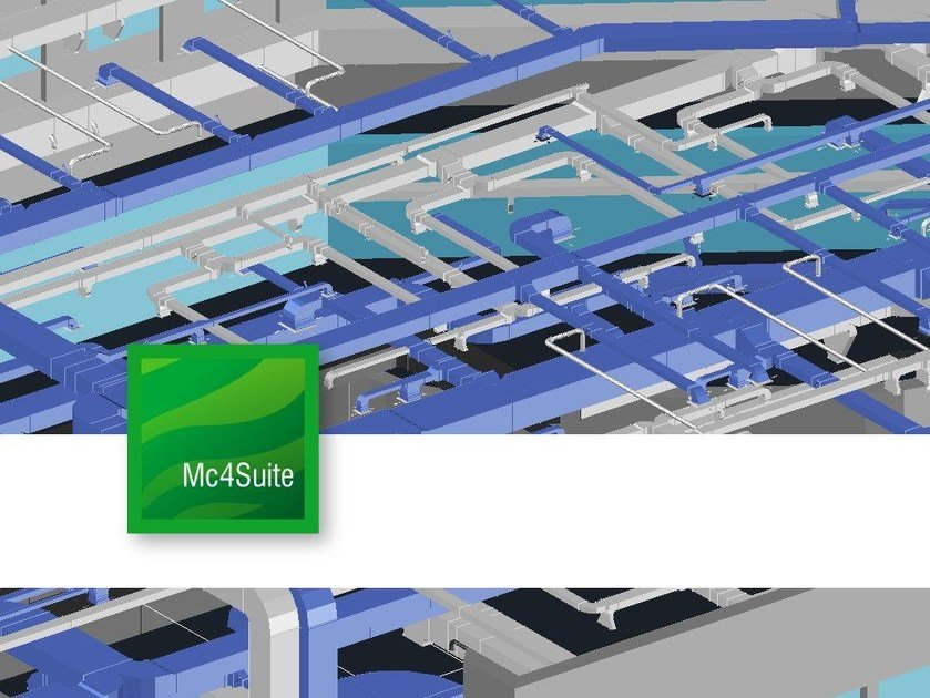 Thermo-refrigeration plantroom design PipeCad by mc4software