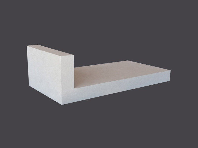 L-shaped shelves in Plasterboard L-SHAPED SHELVES by Gyps