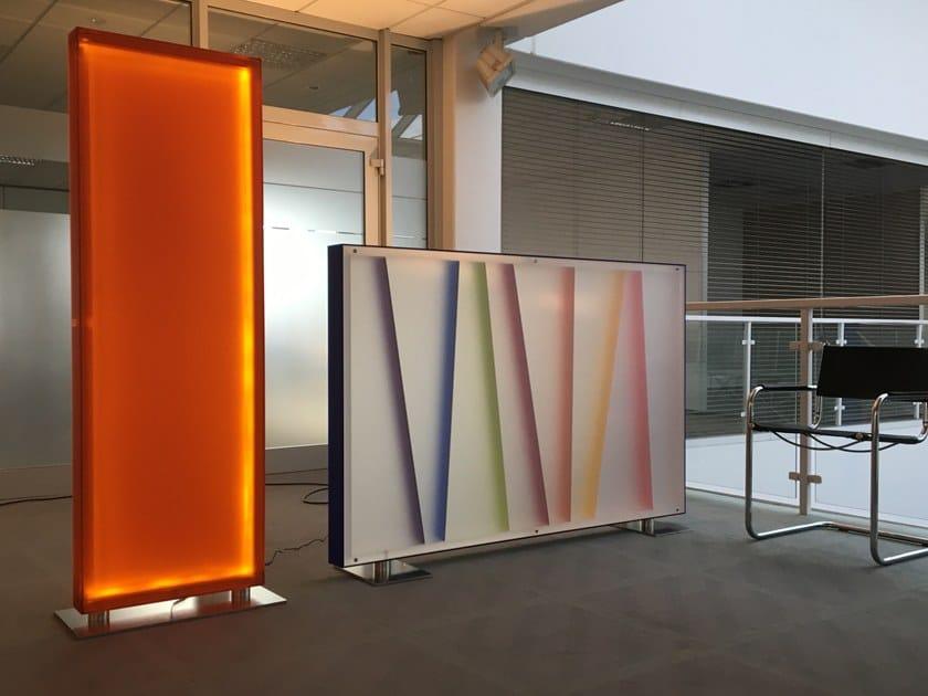 Translucent room divider By Seven Colors Design