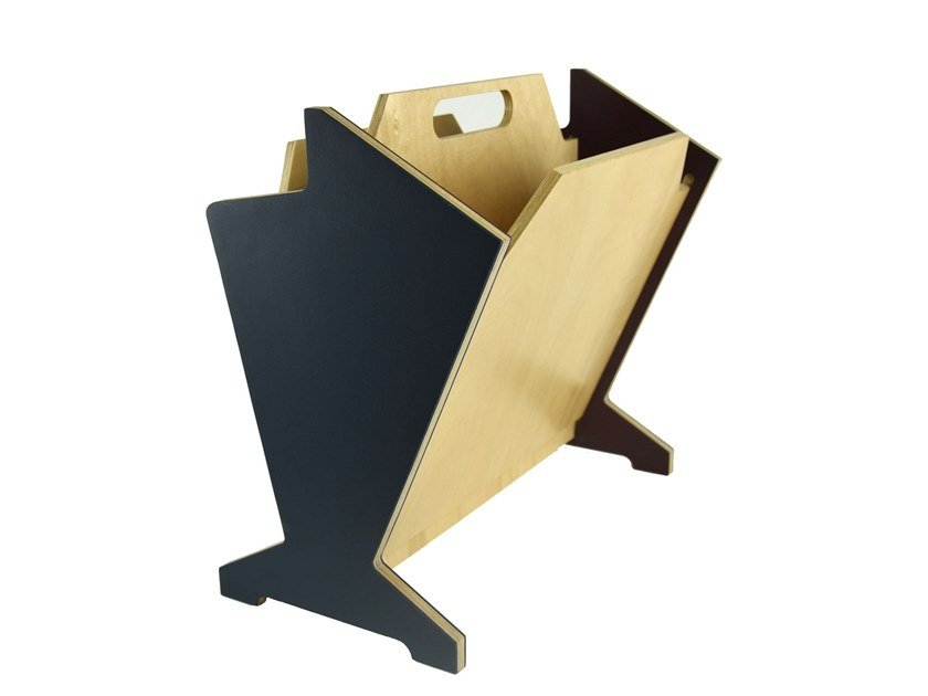 Plywood magazine rack Plywood magazine rack by KHEM Studios