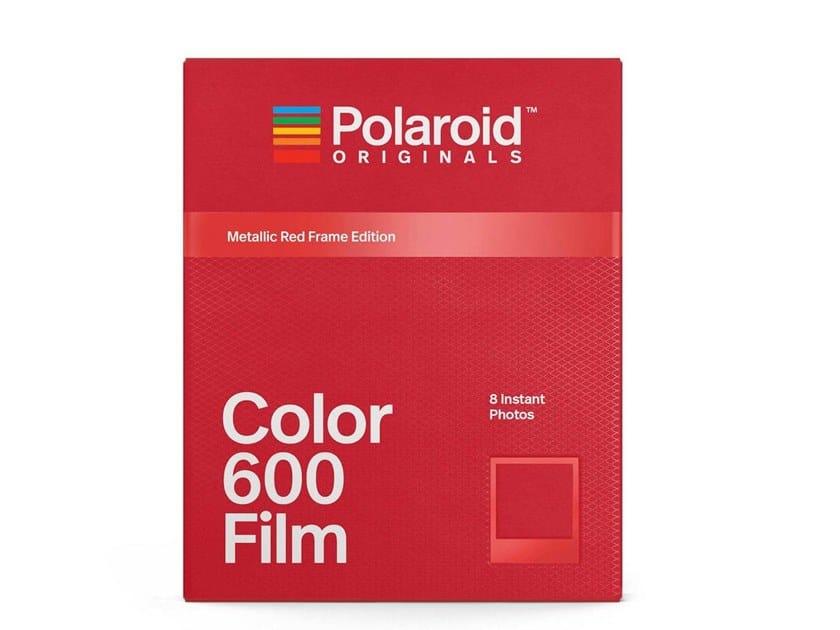 Photographic film COLOR FILM 600 METALIC RED | Photographic film by Polaroid Originals