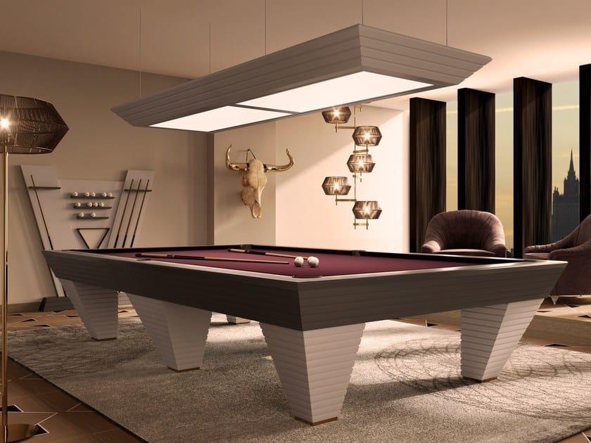 Game table Pool table by Vismara Design