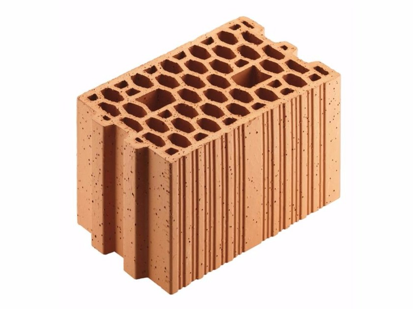 Loadbearing clay block for reinforced masonry Porotherm 20-30/19 by Wienerberger