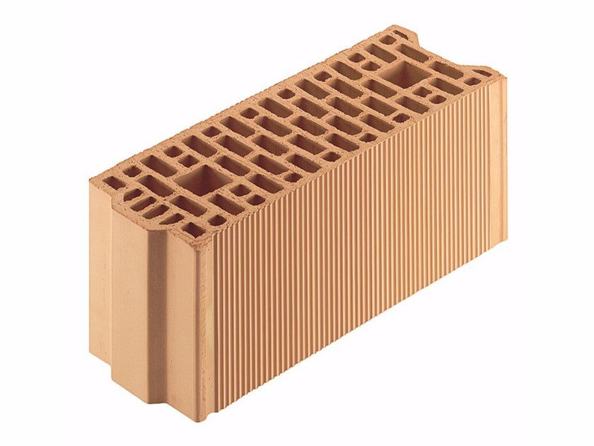 Loadbearing clay block for reinforced masonry Porotherm BIO 17-50/19 by Wienerberger