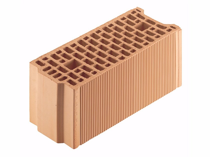 Loadbearing clay block for reinforced masonry Porotherm BIO 20-50/19 by Wienerberger