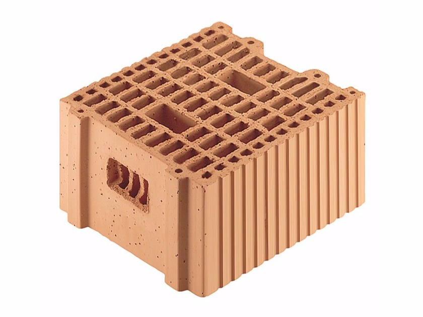 Loadbearing clay block for reinforced masonry Porotherm BIO 30-33/19 by Wienerberger