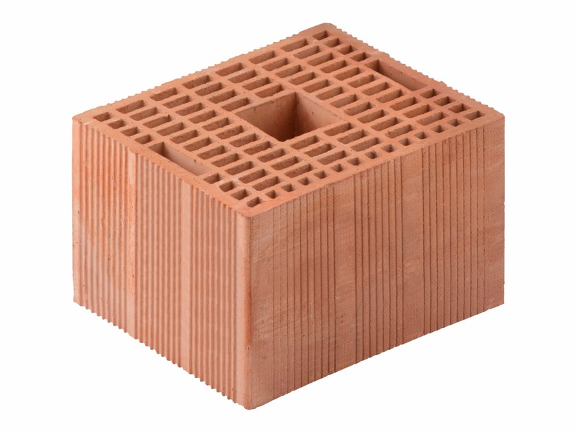 Loadbearing clay block for reinforced masonry Porotherm BIO M.A. Evolution 25-30/19 by Wienerberger