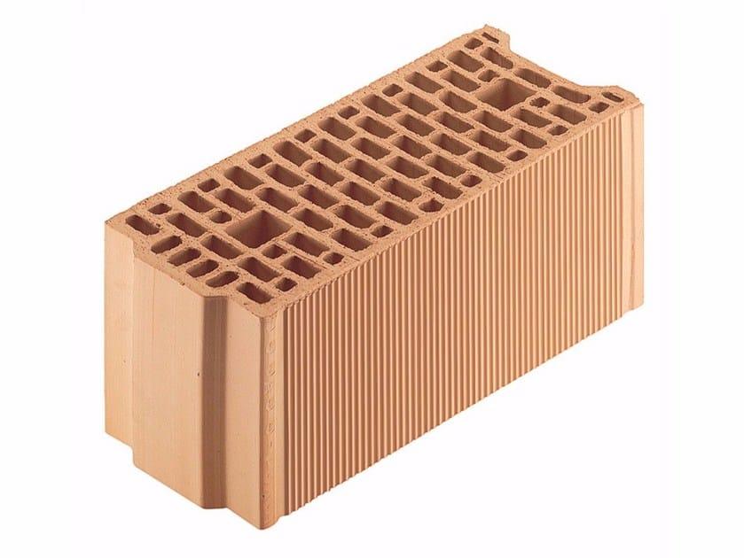 Loadbearing clay block for reinforced masonry Porotherm BIO PLAN 20-50/24,9 by Wienerberger