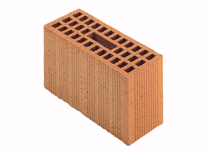 Loadbearing clay block for reinforced masonry Porotherm Modulare 30-12/19 (45 zs) by Wienerberger