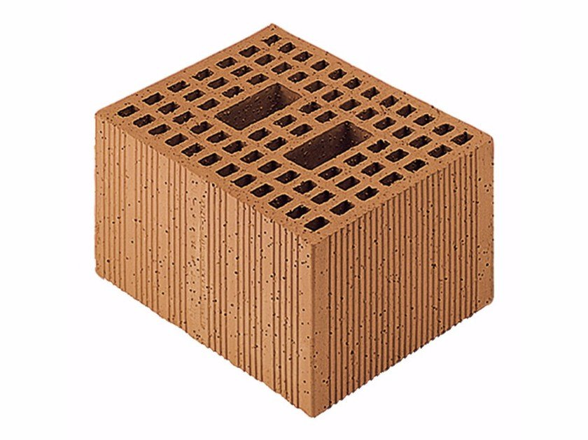 Loadbearing clay block for reinforced masonry Porotherm Modulare 30-25/19 (45 zs) by Wienerberger