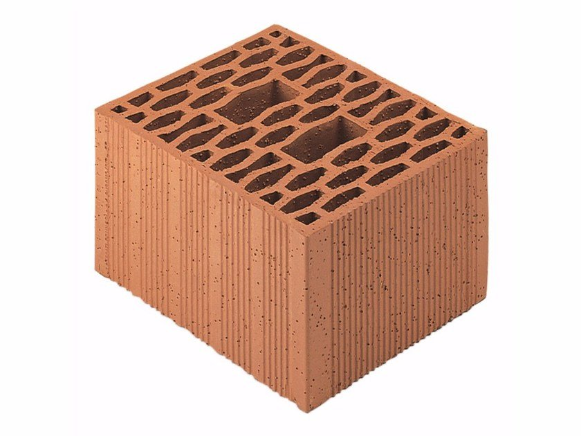 Loadbearing clay block for reinforced masonry Porotherm Modulare 30-25/19 (55) by Wienerberger