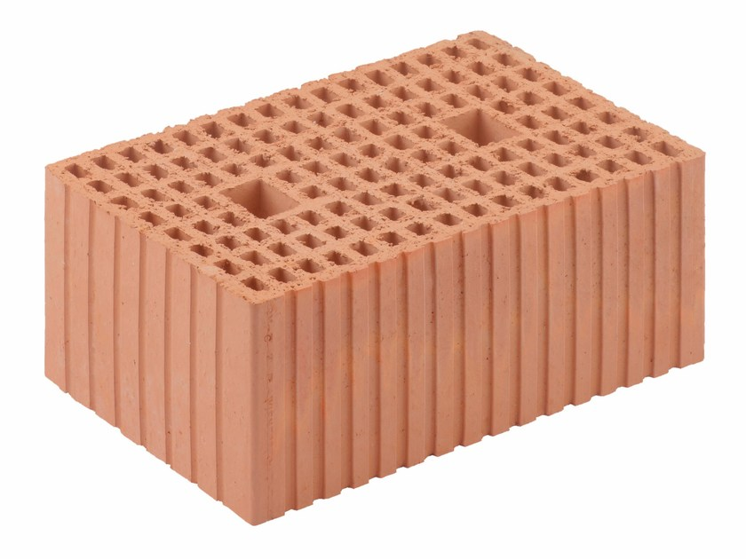 Loadbearing clay block for reinforced masonry Porotherm Modulare 30-45/19 (45 zs) by Wienerberger
