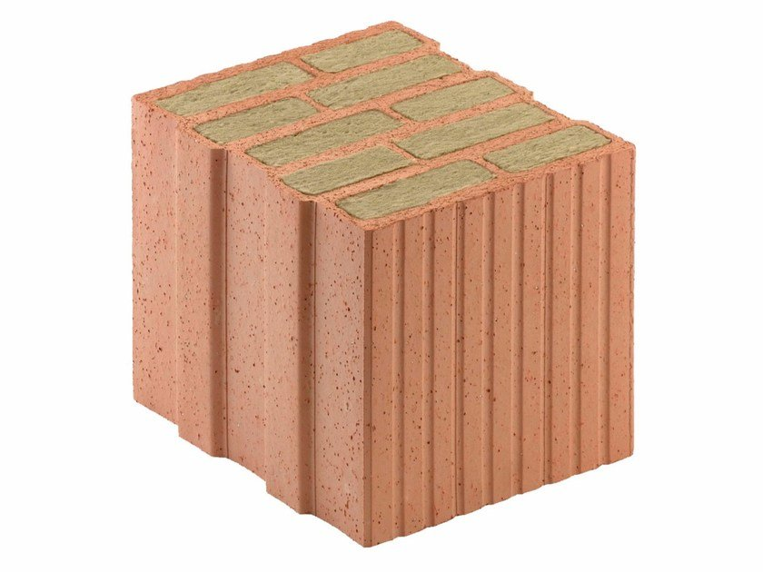 Thermal insulating clay block Porotherm PLANA+ 30 - 0,08 by Wienerberger