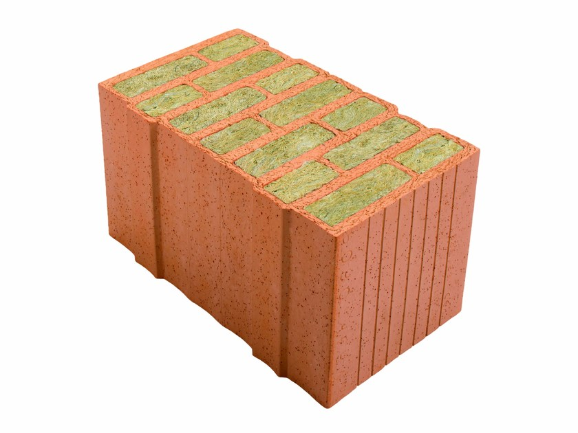 Thermal insulating clay block Porotherm PLANA+ 44 - 0,06 by Wienerberger