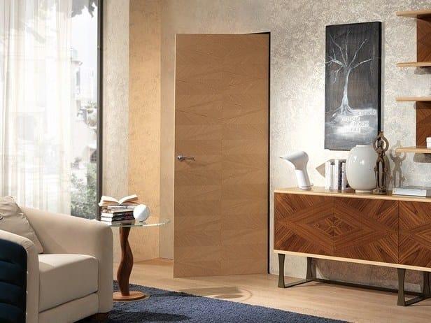 Contemporary style wooden door Porta Galileo by Carpanelli Contemporary