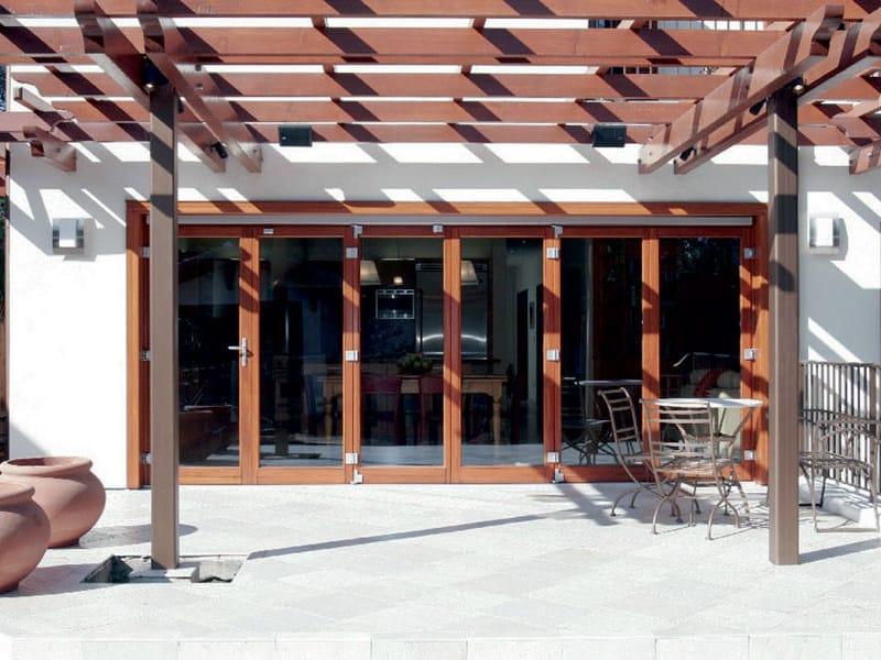 Wooden patio door Patio door by NAVELLO