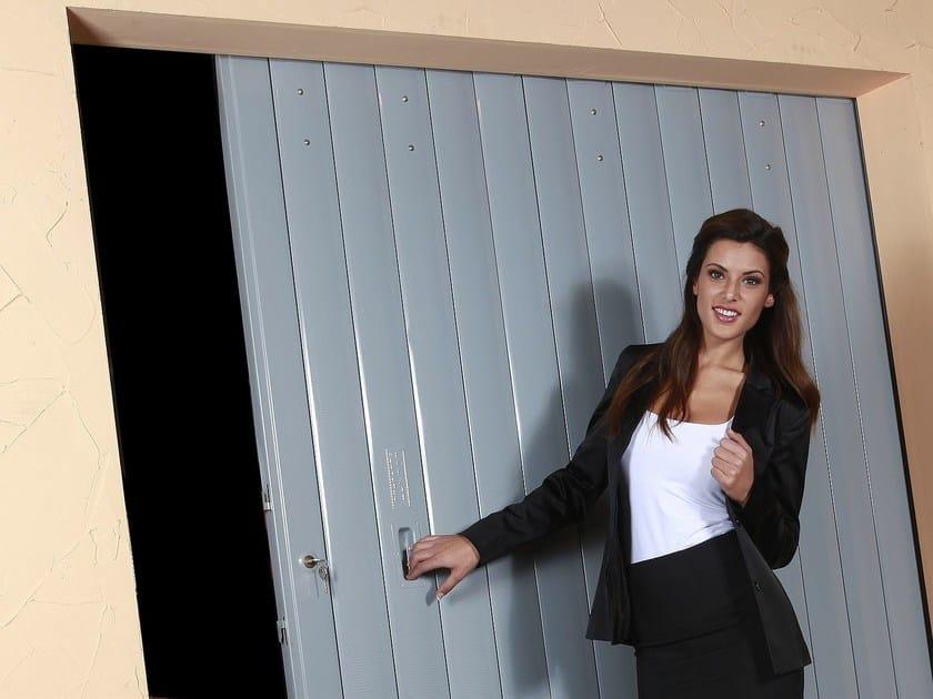 Garage door Sliding garage door by OFFICINE LOCATI
