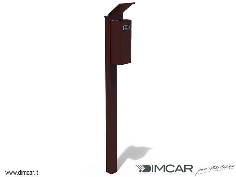 Steel ashtray Posacenere Cenerino con coperchio by DIMCAR