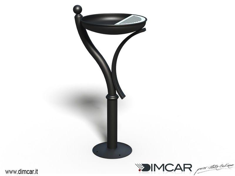 Steel ashtray Posacenere Liberty by DIMCAR