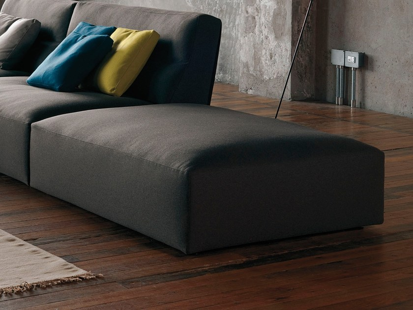Fabric pouf with removable lining JOE | Pouf by Verzelloni