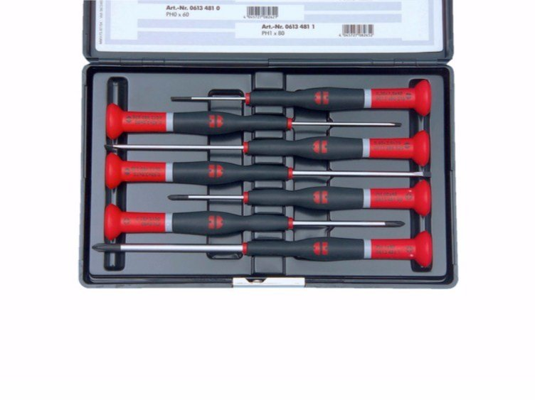 Slotted and ph set Precision screwdriver set by Würth