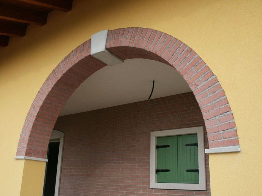 Prefabricated architectural element Prefabricated arcades by Wall System