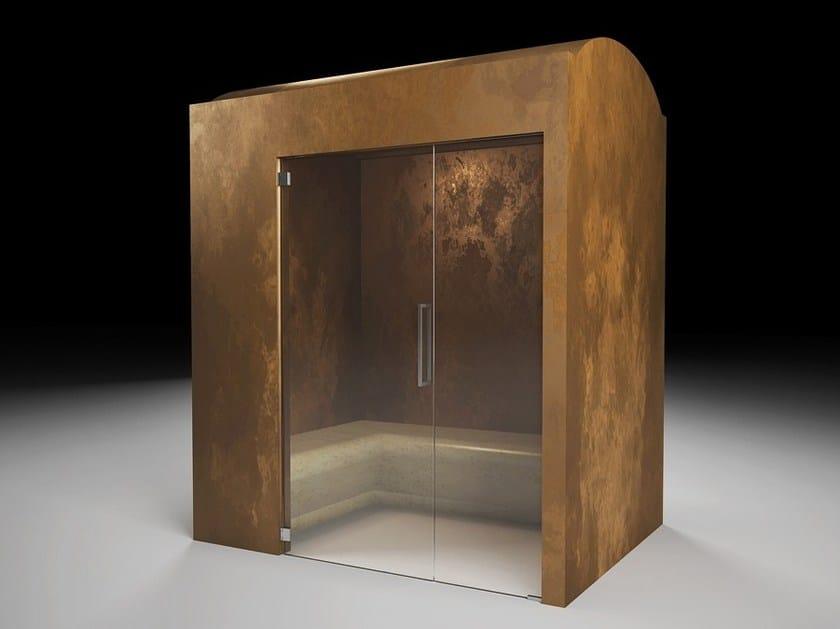 Cabina prefabbricata per bagno turcohammam in eps cabina