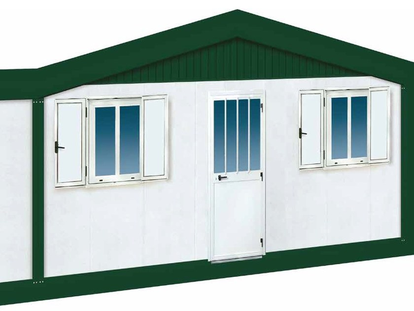 Construction site prefabricated component and garage Prefabricated containers by Condor