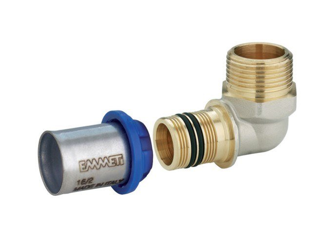 Pipe and special part for water network Press fittings GERPEX by EMMETI