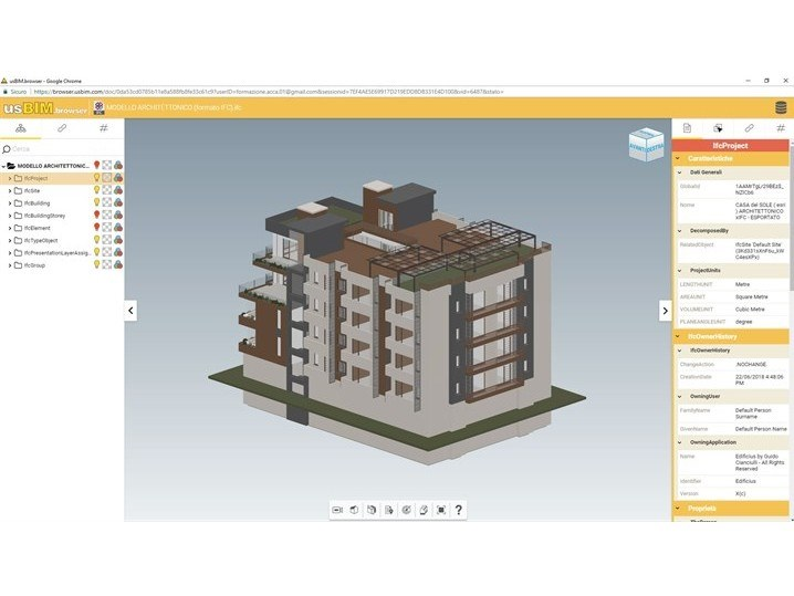 BIM authoring PriMus BIM ONE by ACCA software