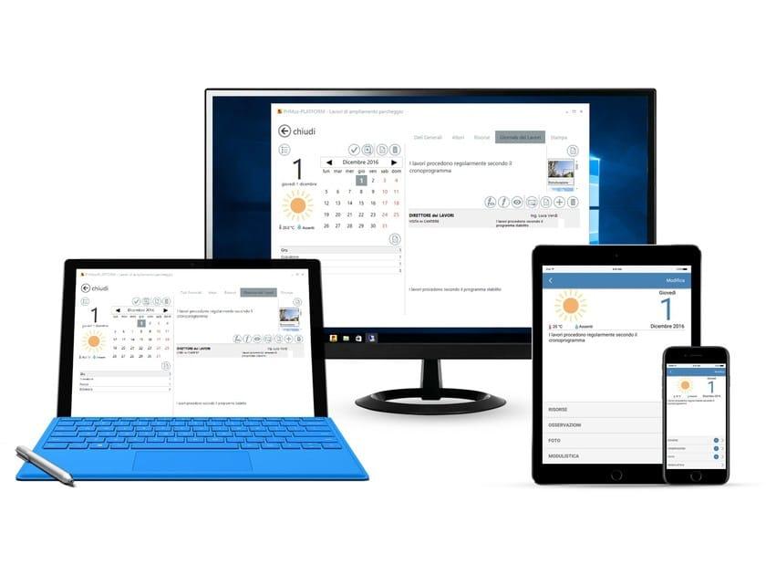 Piattaforma elettronica per la direzione lavori PriMus-PLATFORM by ACCA software