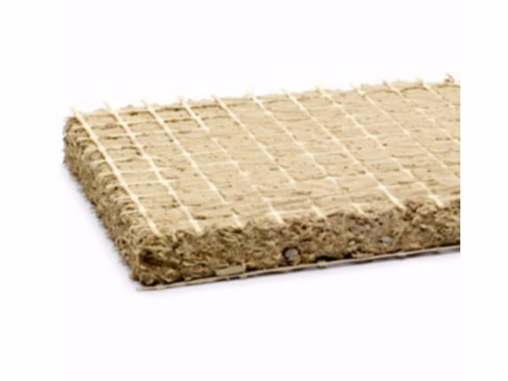 Straw Natural insulating felt and panel for sustainable building ProCrea® 16 mm by ProCrea®