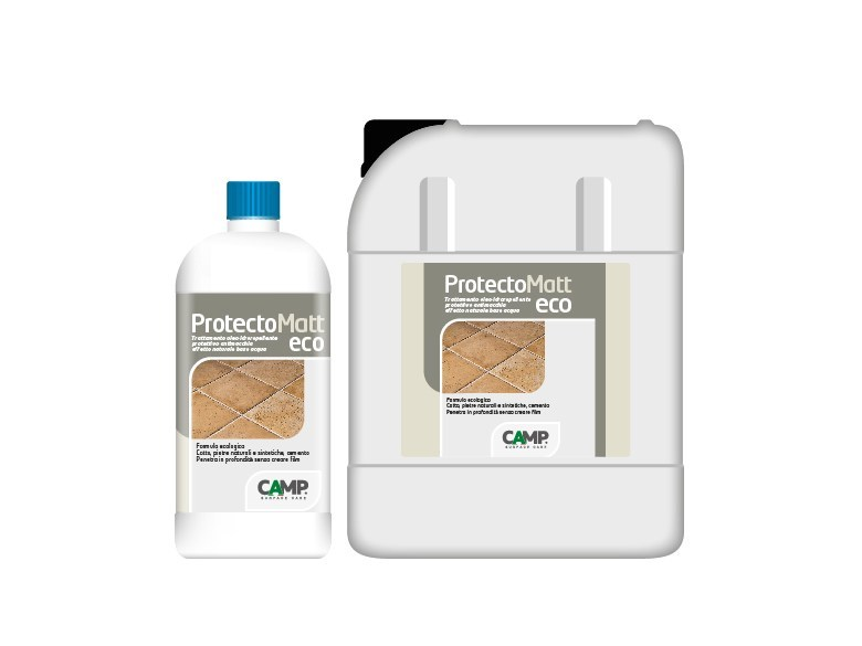 Flooring protection / Surface water-repellent product ProtectoMatt Eco by CAMP