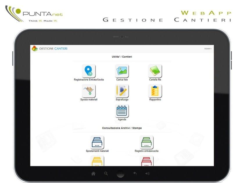 PuntaNet WebApp