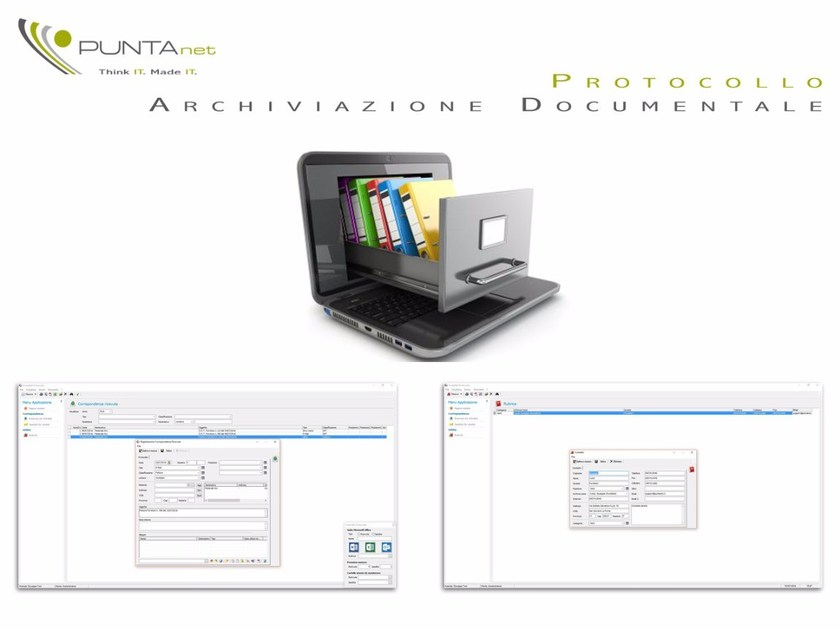 Building yard form and compliance management PuntaNet Protocollo by PuntaNet
