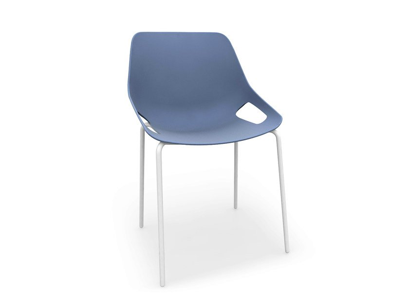 Stackable polypropylene chair Q.5 | Stackable chair by Quinti Sedute
