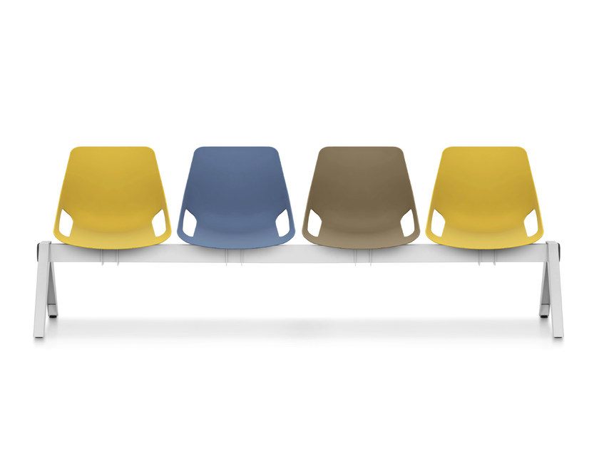 Polypropylene beam seating Q.5 | Beam seating by Quinti Sedute