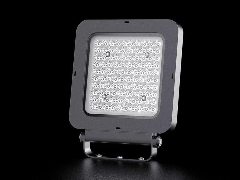 LED die cast aluminium Outdoor floodlight Q | Outdoor floodlight by LANZINI