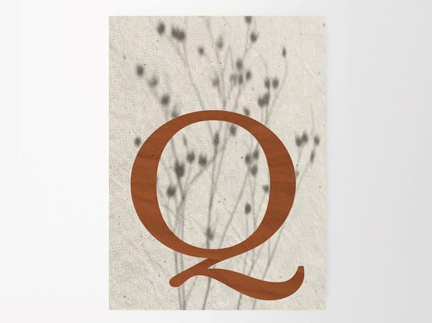 Stampa su carta Q SHADES by Sesehtypo