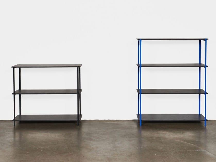 Open double-sided divider shelving unit Q1 | Shelving unit by Jonas Hansen Furniture