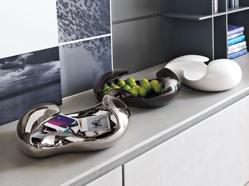 Tigela de fruta / Vaciabolsillos de cerâmica BOUBLE | Centro de mesa by Adriani e Rossi edizioni