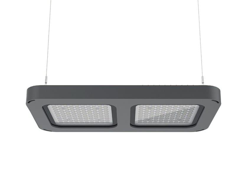 LED die cast aluminium pendant lamp Q2 | Pendant lamp by LANZINI