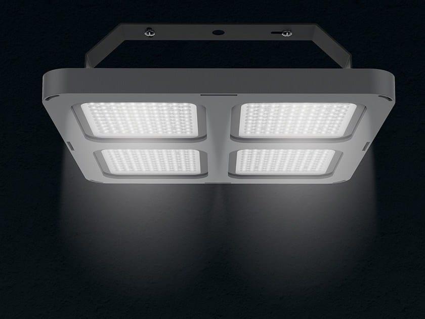 LED die cast aluminium ceiling lamp Q4   Ceiling lamp by LANZINI