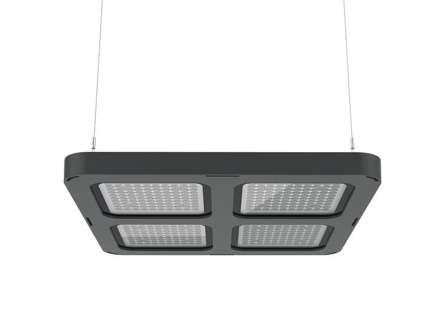 LED die cast aluminium pendant lamp Q4 | Pendant lamp by LANZINI