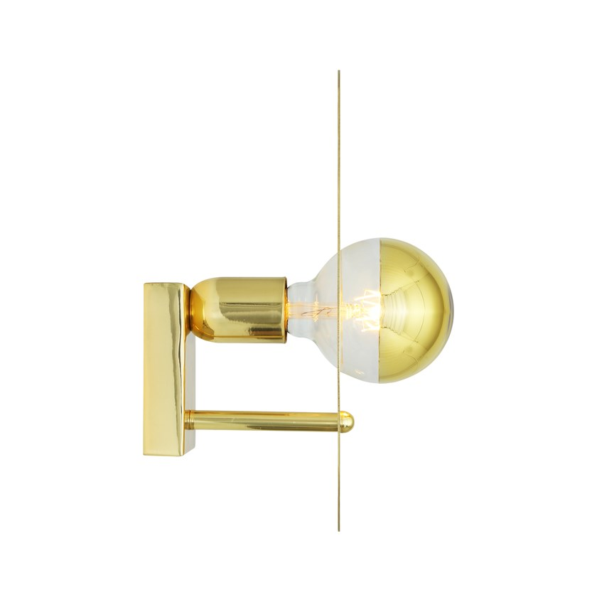 In Luce Indiretta Ottone QalaApplique Fatta Lighting A Mano Mullan 5R43LAj